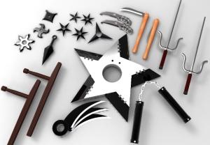 nama senjata ninja, perlengkapan ninja, cara membuat senjata ninja perlengkapan ninja, senjata ninja naruto, senjata ninja saga, senjata ninja saga terkuat, senjata ninja jepang